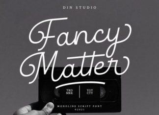 Fancy Matter Handwritten Font