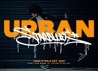 Urban Starblues Script Font