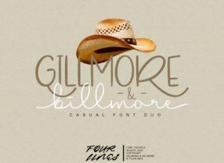 Gillmore & Billmore Script Font