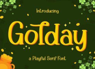 Golday Display Font