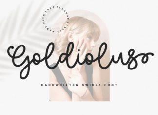 Goldiolus Handwritten Font