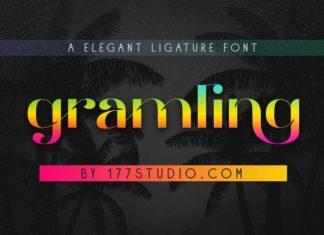 Gramling Sans Serif Font
