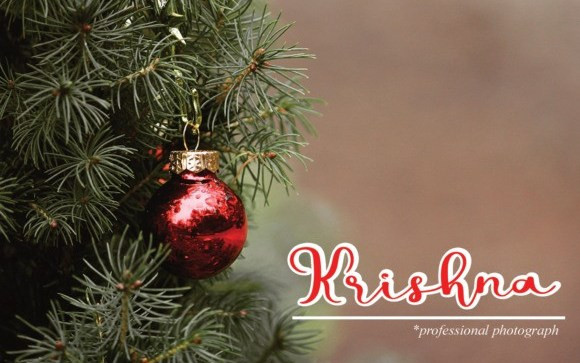 Hello Christmas Script typeface