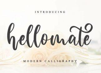 Hellomate Script Font