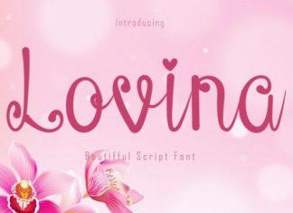 Lovina Script Font