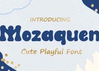 Mozaquen Display Font
