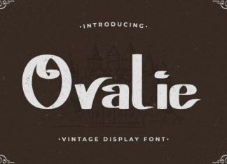 Ovalie Display Font