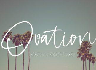 Ovation Handwritten Font