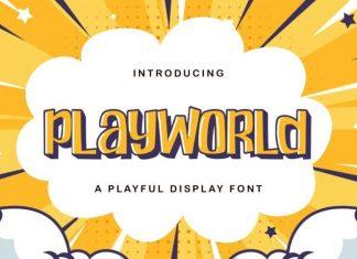 Playworld Display Font