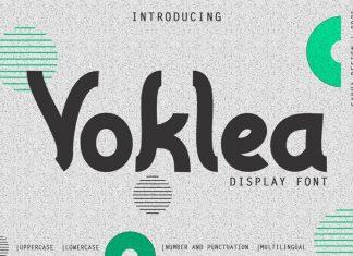 Voklea Display Font