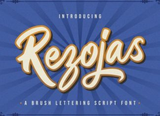 Rezojas Script Font