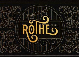 ROTHE Display Font