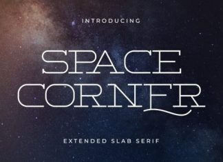 Space Corner Slab Serif Font