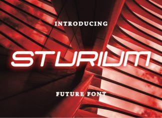 Sturium Display Font