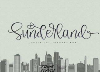 Sunderland Script Font