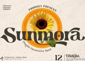 Sunmora Serif Font