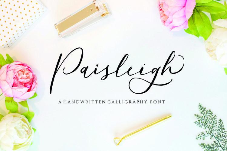 Paisleigh Script Font