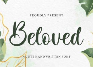 Beloved Script Font