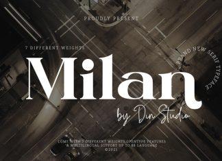 Milan Serif Font