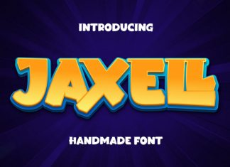 Jaxell Display Font