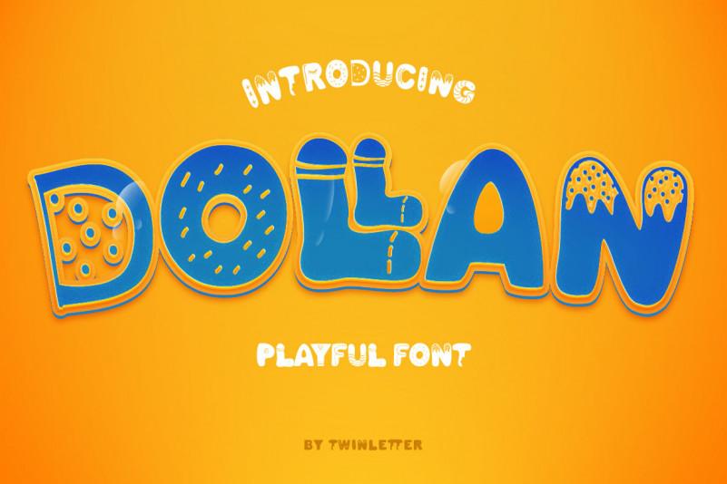 Dollan Display Font