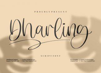 Dharling Script Font