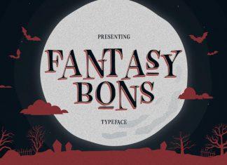 Fantasy Bons Display Font