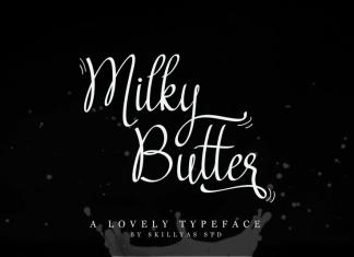 Milky Butter Script Font