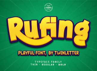 Rufing Display Font