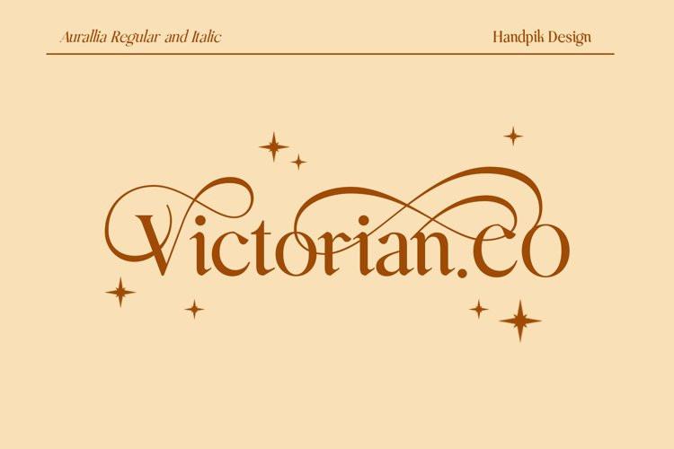 Aurallia Serif Font