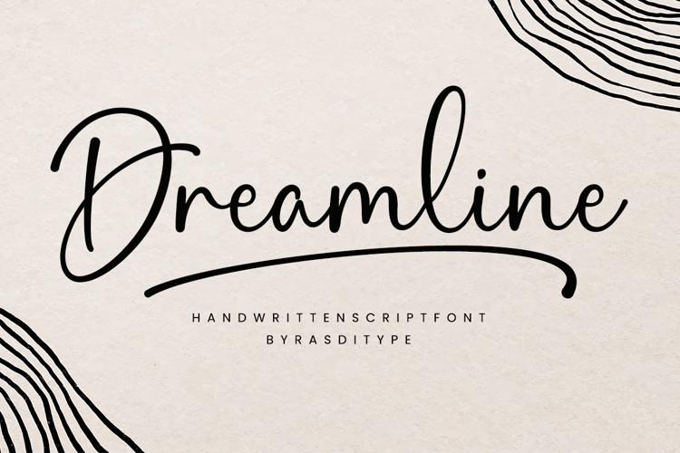 Dreamline Script Font