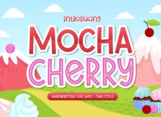 Mocha Cherry Display Font