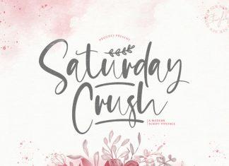 Saturday Crush Script Font
