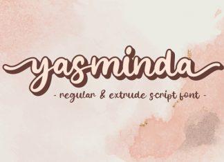 Yasminda Calligraphy Font