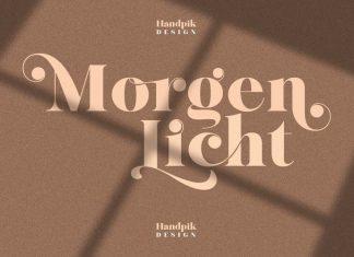 Morgenlicht Sans Serif Font