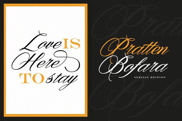 Denita Calligraphy Font
