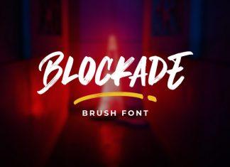 Blockade Brush Font