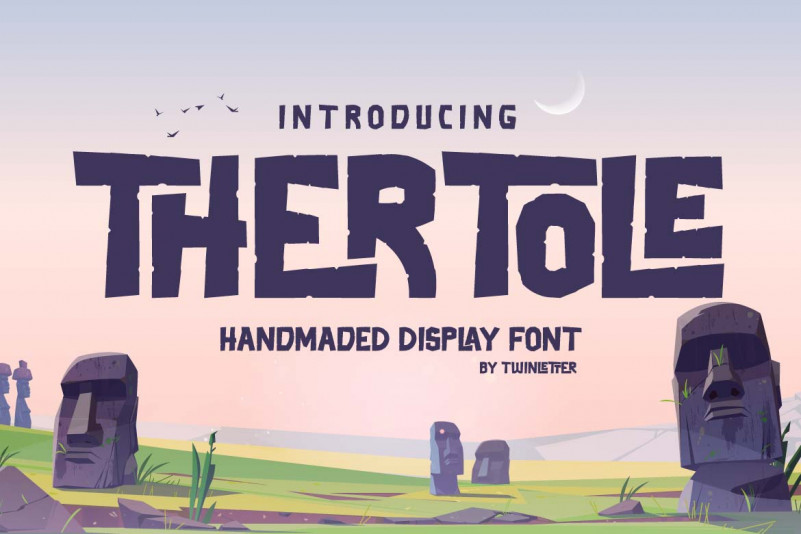 Thertole Display Font