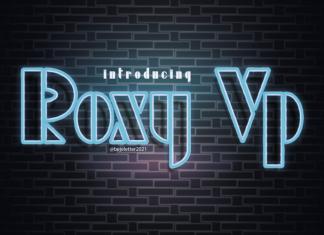 Roxy Vp Display Font