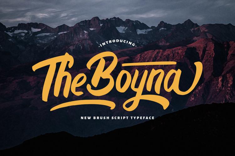 Boyna Script Font