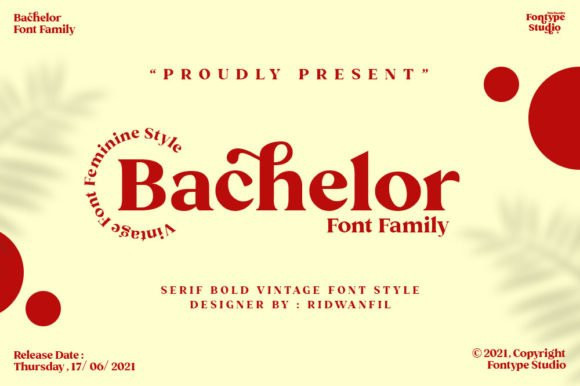 Bachelor Serif Font