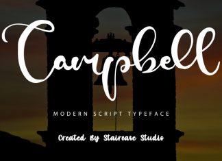 Campbell Script Font