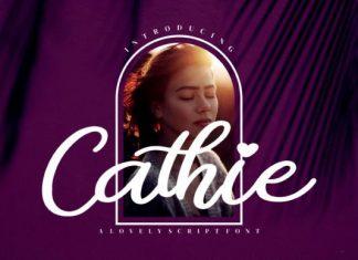 Cathie Script Font