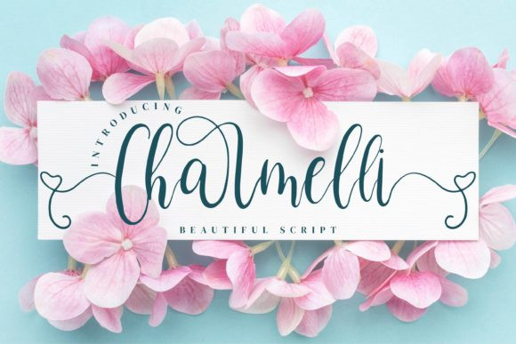 Charmelli Calligraphy Font