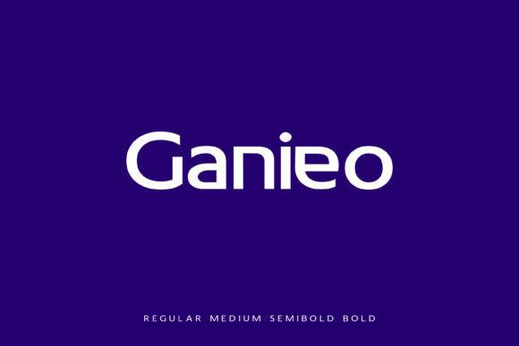Ganieo Sans Serif Font