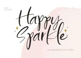 Happy Sparkle Handwritten Font