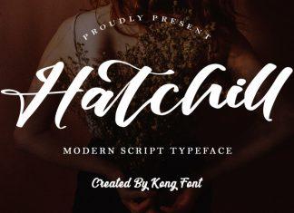 Hatchill Script Font