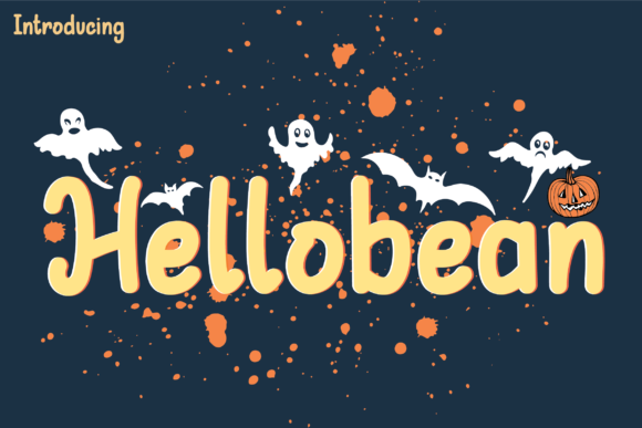 Hellobean Display Font