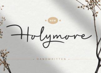 Holymore Handwritten Font