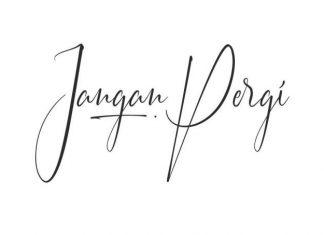 Jangan Pergi Handwritten Font